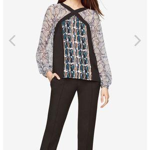 BCBG Maxazria Long sleeve blouse